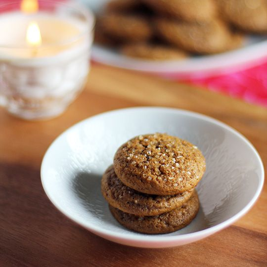 Gingerbread Cake Cookies - hopefully these are similar to the ones ...