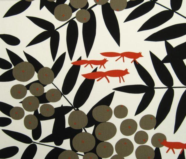Marimekko fox print | inspiration/illustration/textiles/pattern | Pin ...