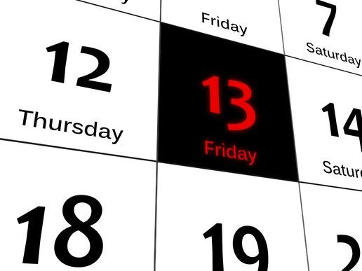 Is Friggatriskaidekaphobia Keeping You Indoors This Friday 13th?