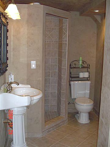 Small basement bathroom showers pinterest for Small basement bathroom designs