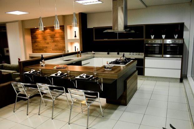 Cozinha planejada, que cor escolher? Como fazer? Aqui centenas de