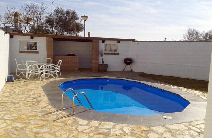 Piscina gre serie atlantis 610x375x132cm piscinas for Piscinas enterradas