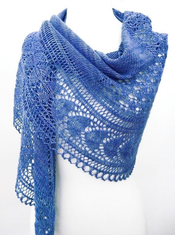 Holbrook Shawl by stevieland Knitting Pattern