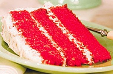 Rachel's Red Velvet Cake — Punchfork | RED VEVLET ANYTHING ...
