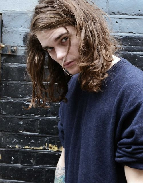 Long Hair Why Guys Like It : Harry royds by andrea vecchiato men with long hair