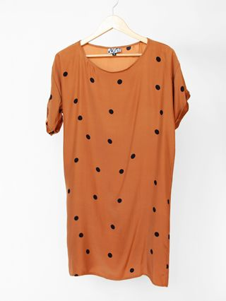 dots joanna dress by dusen dusen