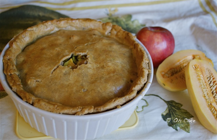 Squash and Apple Sausage Pie | All Things Autumn | Pinterest