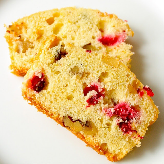 cranberry orange walnut loaf | Bread | Pinterest