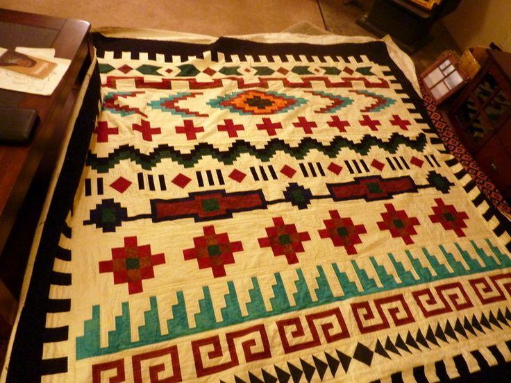 Southwestern Quilt Sewing Ideas Pinterest