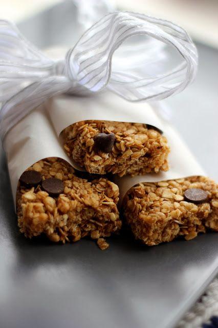 Chewy Chocolate Chip Granola Bars | Fun Kid Food | Pinterest