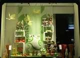 easter store window displays