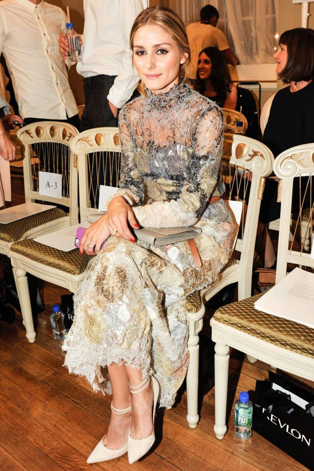 See who from the fashion set was spotted front row at London Fashion Week.