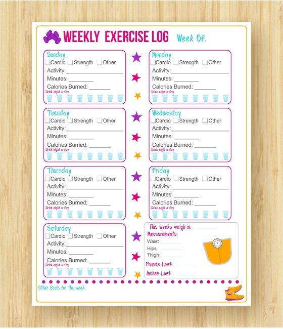 workout sheet