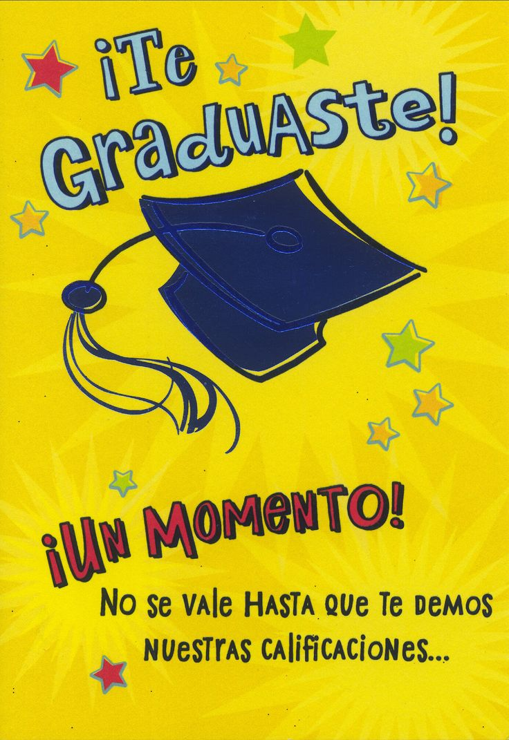 Congratulations And Blessings Spanish Language Graduation Card Graduation Cards