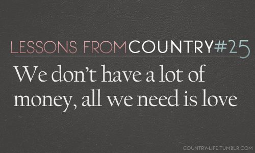 Quotes from country singers