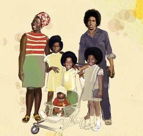 Bob Marley & Family | CELIBRITY SIBLINGS & CHILDREN ...