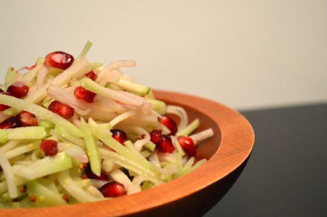 Chef Masa's Pomegranate Cabbage Slaw Recipe — Dishmaps