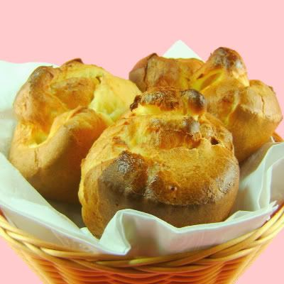 Popovers and Strawberry Butter | Breads, Sweetbreads & Rolls | Pinter ...