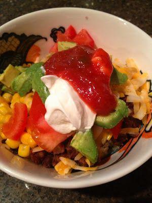 Quinoa Black Bean Burrito Bowl | Food | Pinterest