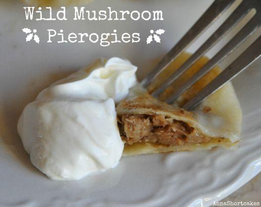 Wild Mushroom Pierogis | Recipes | Pinterest