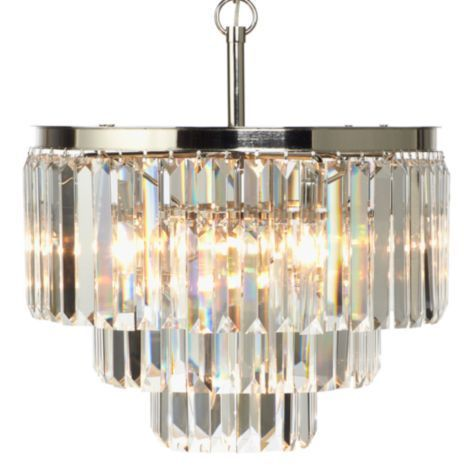Luxe Crystal Chandelier From Z Gallerie