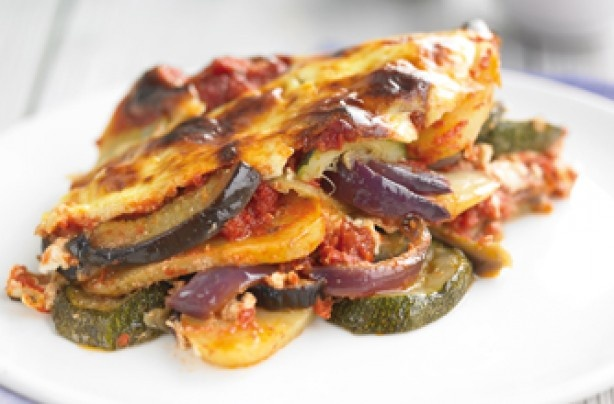 Vegetable Moussaka | Dinner's ready! Vegetarian | Pinterest