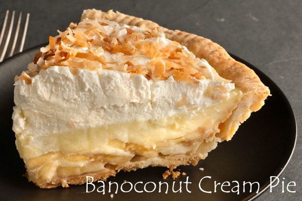 Banoconut Cream Pie | LOCO POR COCOnut | Pinterest