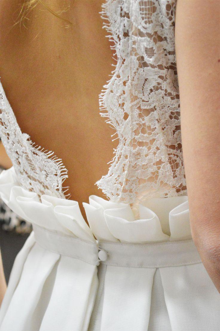 Rime Arodaky Anja back detail  Robe de mariée  Pinterest