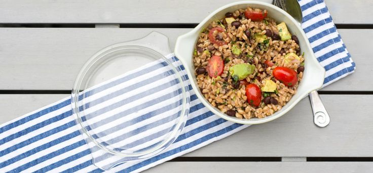 Farro Salad with Lime Vinaigrette | Shakeology && Clean eating! | Pin...