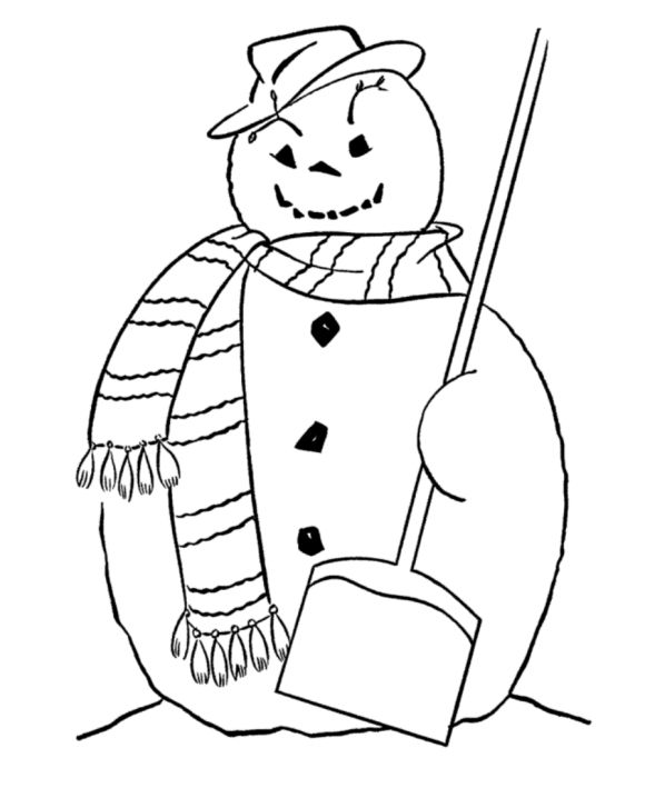 580 x 709 jpeg 36kB, Free Coloring Pages Winter Snowman | Printables ...