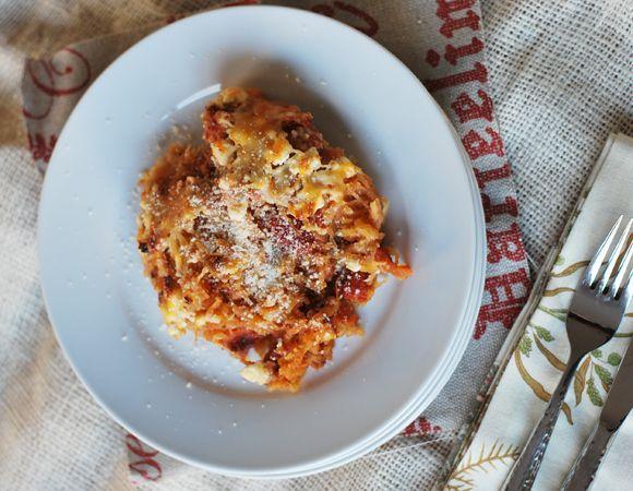 Spaghetti Squash With Spinach, Feta & Basil White Beans Recipe ...