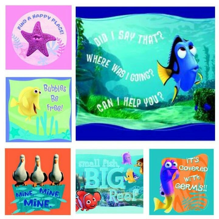 Famous Finding Nemo quotes Finding nemo Pinterest