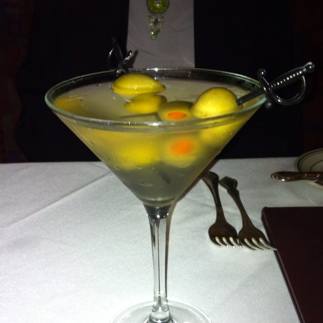 Extra-Dirty Martini Recipe — Dishmaps