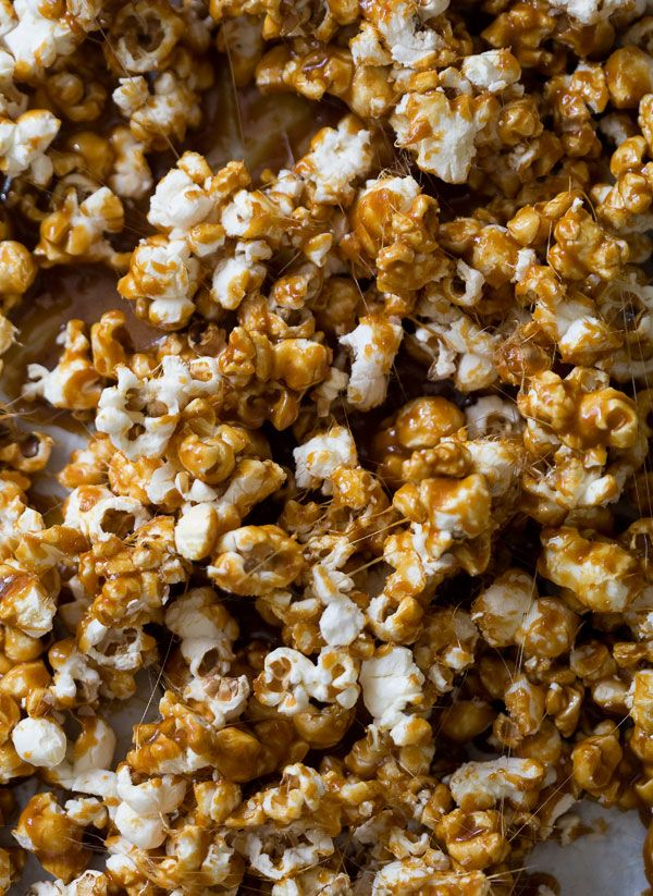 ... alone? This Salted Caramel Popcorn is the best movie buddy, trust us