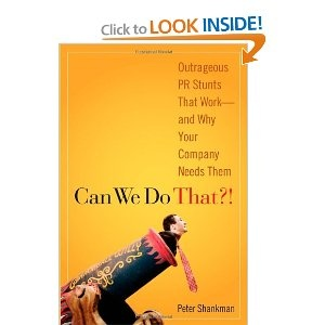 Great book by Peter Shankman