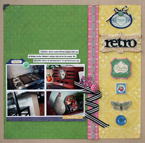 Stacey Michaud | Awesome Scrapbook Layouts | Pinterest