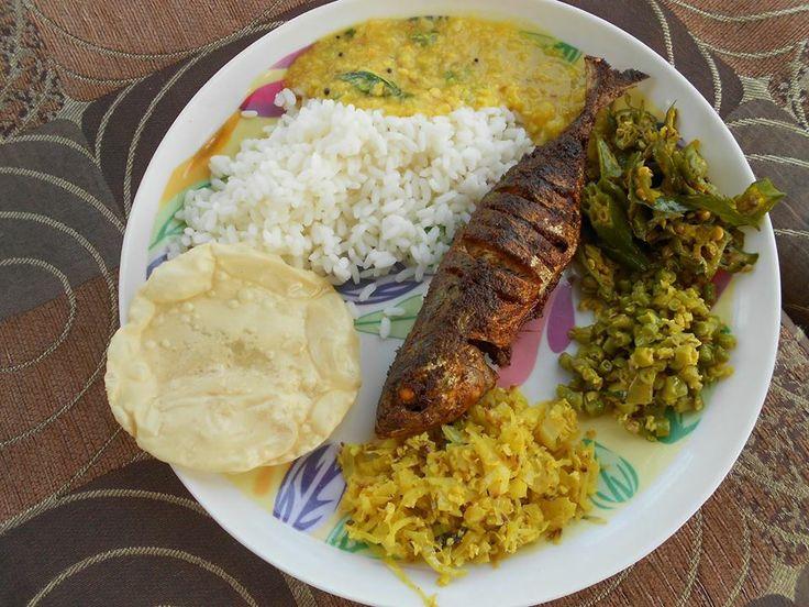 Typical kerala meals cuisine pinterest for Cuisine kerala