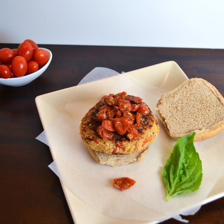Roasted red pepper feta quinoa burgers | Recipes I Want to Try | Pint ...