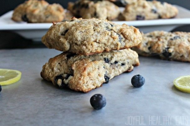 Blueberry Lemon Scones - Scone Recipe A quick check on Calorie Counter ...