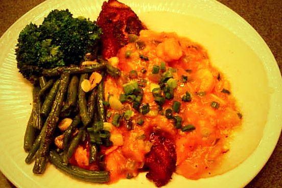 Drick's Rambling Cafe: Blackened Catfish with Shrimp Étouffée Sauce