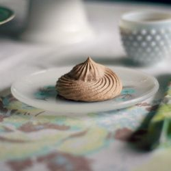 mocha meringues | Desserts | Pinterest