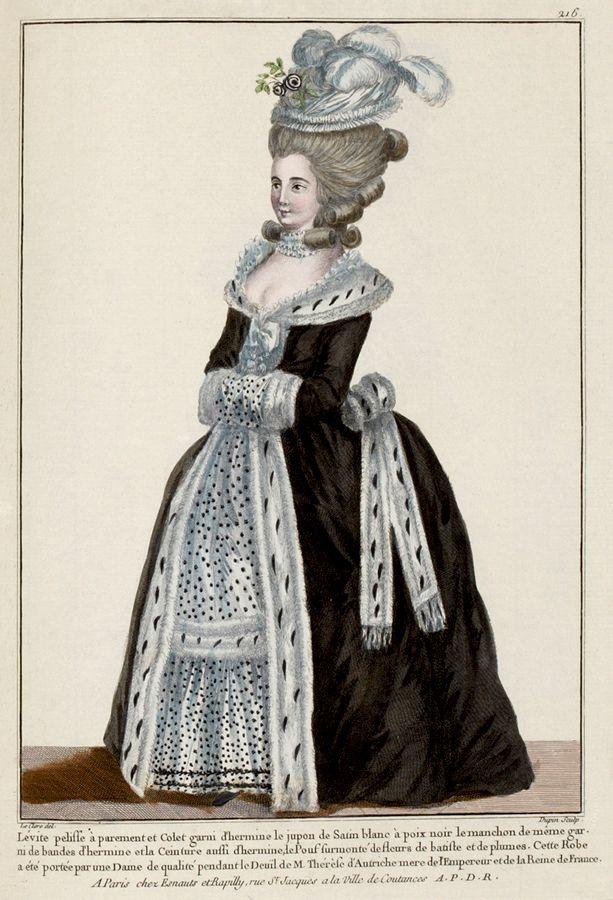 1781 французских способа плиты от Galerie Режимы DES.