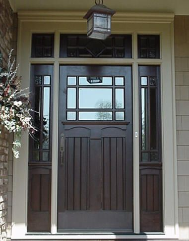 Wood Entry Doors