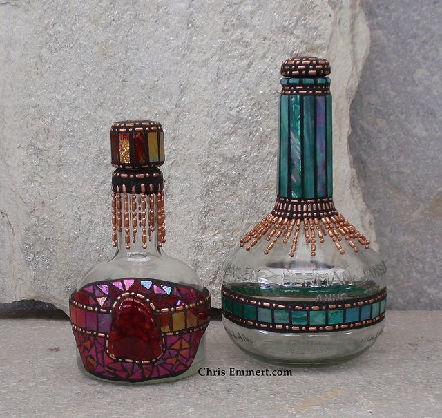 Mosaic Liquor Bottles | Flickr - Photo Sharing!