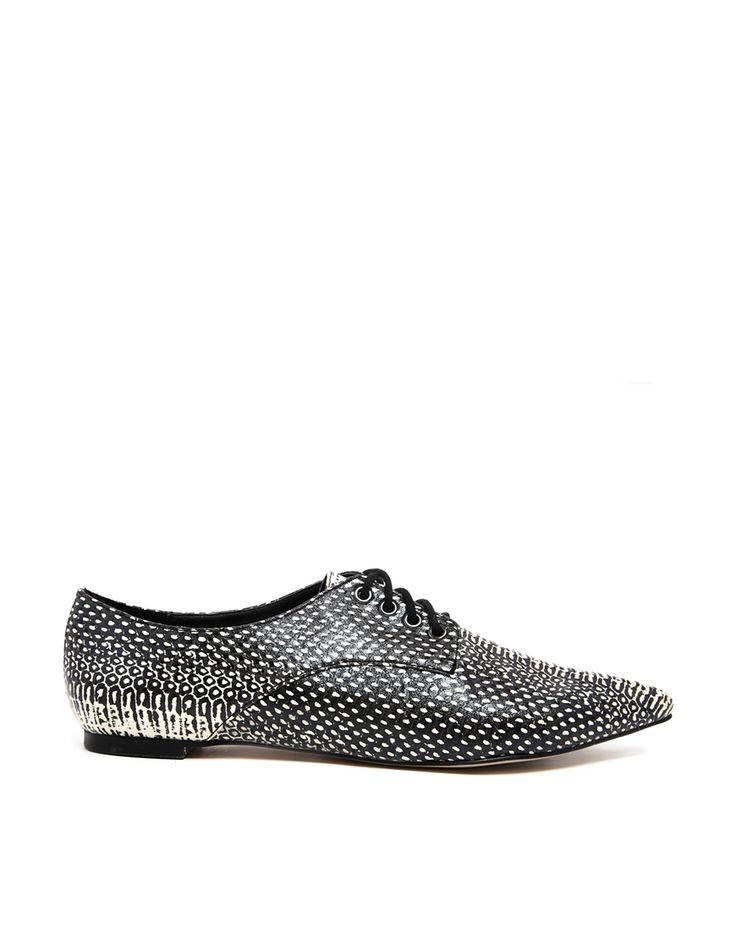 Shop now: ASOS MY LOVE Flat Shoes