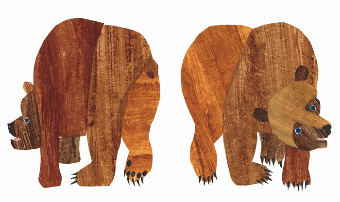 Eric Carle Book: Brown Bear, Brown Bear, What Do You See? -childhood ...