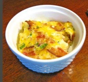 Easy bacon and potato breakfast casserole, great prepare ahead and pop ...