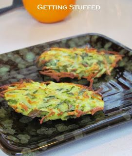 Getting Stuffed: Spinach and Feta Potato Fritters