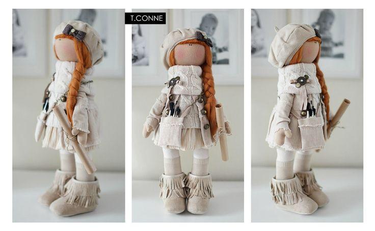Ещё куклы Татьяны Коннэ.  Прочитать целикомВ.