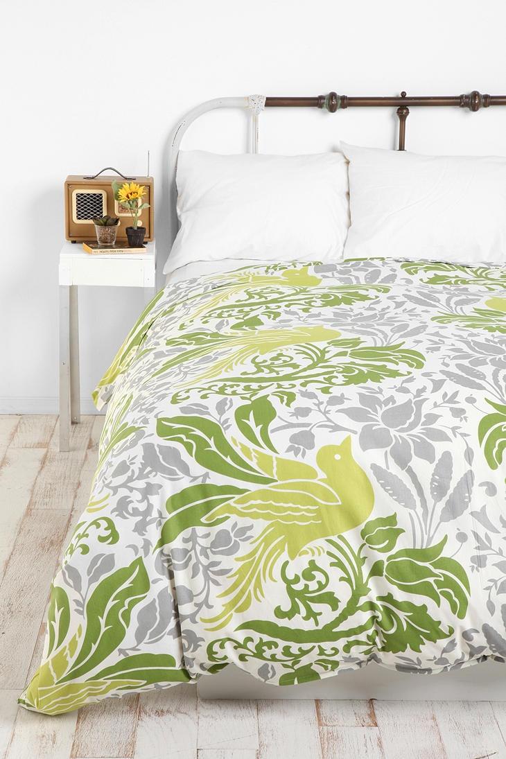 Flourish Bird Duvet Cover My Style Pinboard Pinterest